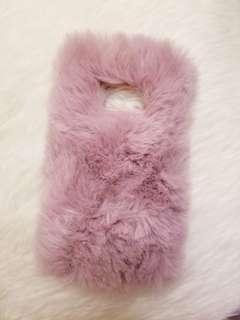 Samsung s8 Fake fur phone case 毛毛 電話殼 手機殼
