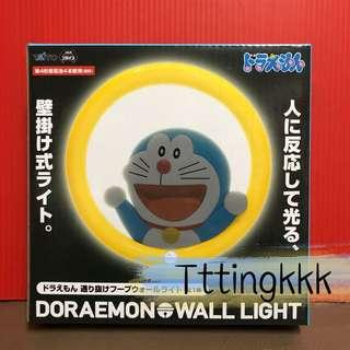 日本直送《叮噹/多啦a夢人體感應掛牆燈 Doraemon wall light