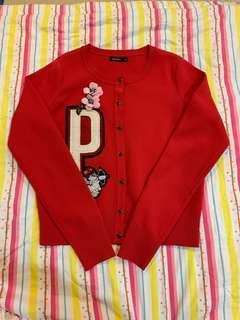 (含運)MOMA 紅色小外套