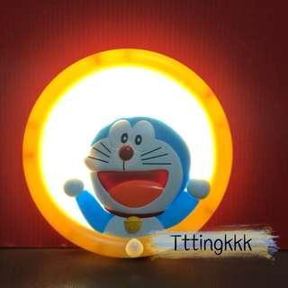 日本直送《叮噹/多啦a夢掛牆感應燈(15cm) wall light