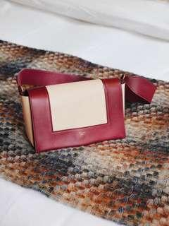 [現貨]Celine Frame bag #Ruby and Nude