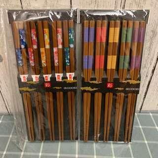 日本製 筷子 套裝 (5對)