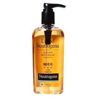 🚚 Neutrogena Liquid Facec Wash 175ml Fragrance Free