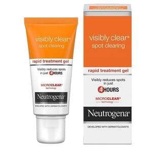 🚚 Neutrogena Visibly Clear Rapid Clear Treatment, 15 ml,