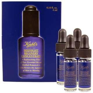 Kiehl's Midnight Recovery Concentrate 深夜奇蹟修復精華露 4ml