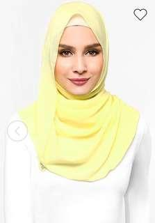 Duck Fluff Scarf in Durian