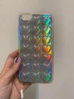 🚚 iPhone 6s Plus 雷射立體愛心圖案手機殼 #半價良品市集