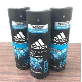 *BRAND NEW* - ADIDAS (Ice Dive) Deo Body Spray Deodorant 150ML