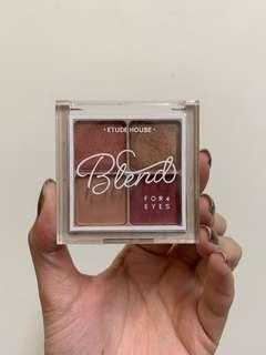 🚚 Etude House  眼影盤 四色眼影盤 乾燥玫瑰 #半價美妝市集