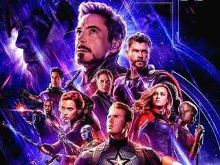 AVENGERS END GAME TICKETS 2 PCS