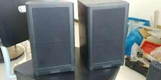 Mission speakers x 5 and 10 inch powered sub