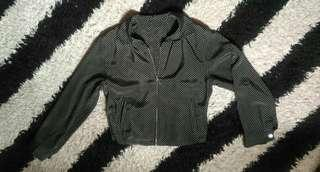 Jacket outer crop