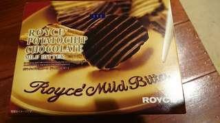 🚚 Royce 巧克力洋芋片 ★現貨僅有一盒★