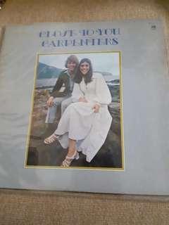 Vinyl Record Carpenters - close to you