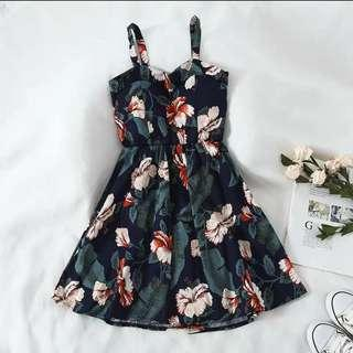[PO] floral /polkadots assorted dress