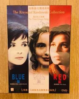 籃白紅三部曲 DVD