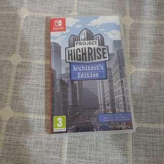 Switch Project Highrise: Architect's Edition 大廈管理者 有中文
