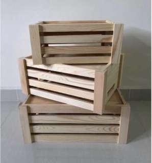 Wooden Crates (3 in 1)