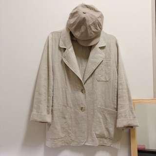 米燕麥🌾質感西裝外套
