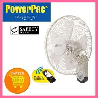 PowerPac 16 Inch Wall Fan with Remote Control (PPWF40R)
