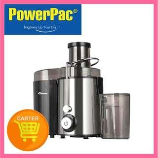 🚚 POWERPAC JUICE EXTRACTOR WITH 2 SPEED SELECTOR AND STAINLESS STEEL BLADES (PP3405)