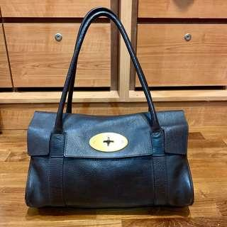 Mulberry Bayswater small chocolate brown (authentic)