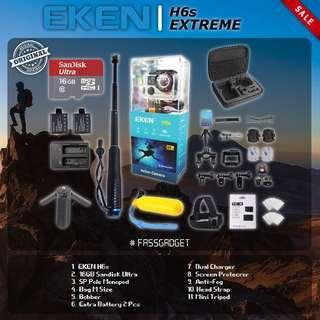 EKEN H6s Camera ( Ready Stock ) 1 Years Warranty