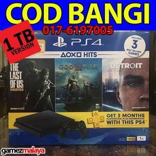[NEW] PS4 SLIM 1 TB HITS BUNDLE - (GAMEZMALAYA)