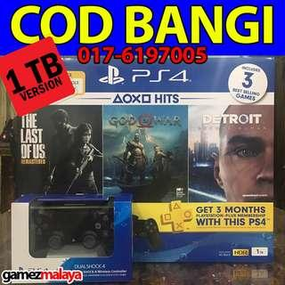 [NEW] PS4 SLIM 1 TB HITS BUNDLE + EXTRA CONTROLLER- (GAMEZMALAYA)