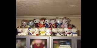 Hello Kitty 結婚公仔一套(18個)