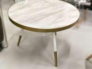 SKYE Coffee Table in WHITE MARBLE PRINT (II)
