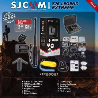 SJCAM SJ6 Legend Camera ( Ready Stock ) 1 Years Warranty