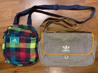Adidas bags x2 (Bundle Sales)