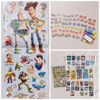 🚚 超值組合 / 玩具總動員 貼紙 迪士尼 皮克斯 Disney 胡迪 巴斯光年 #半價良品市集