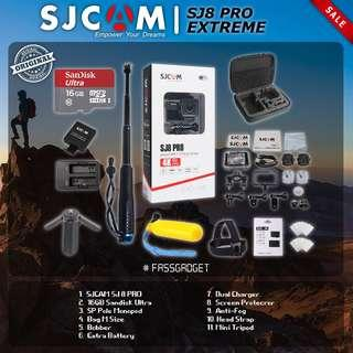 SJCAM SJ8 PRO Camera ( Ready Stock ) 1 Years Warranty