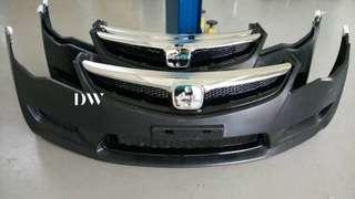 Honda Civic FD Type R Front bumper PP Taiwan HC Racing