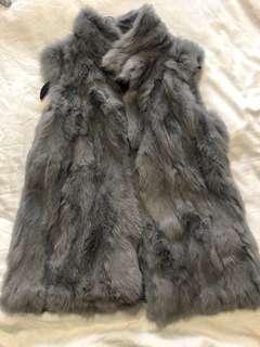 Brand new grey fur