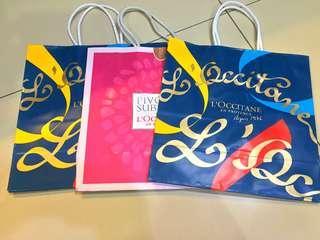 TAKE ALL - Paper Bag L'Occitane Small
