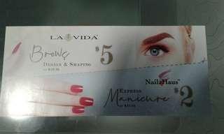 Lavida and Nailz Haus voucher