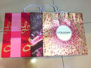 TAKE ALL - Paper Bag L'Occitane Medium