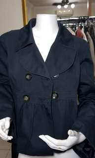 StBernard for Dunnes Stores navy blue double breasted Blazer
