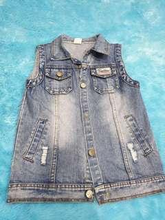 Jaket Jeans anak unisex