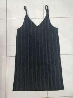 Stripes Grey Dress