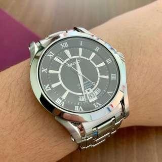 Seiko Premier Perpetual Calendar Quartz Watch