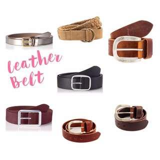 New!  Esprit Casual Smart Leather Belt 女裝真皮皮帶 👱🏼‍♀️