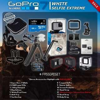Gopro Hero7 White ( Ready Stock ) - 1 Years Warranty - GoPro Hero 7 White / GOPRO HERO 7 WHITE