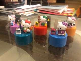 Hello Kitty MTR 擺設