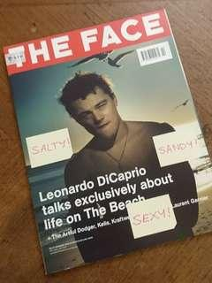 The Face UK Lifestyle Magazine Feb 2000 Leonardo Dicaprio The Beach