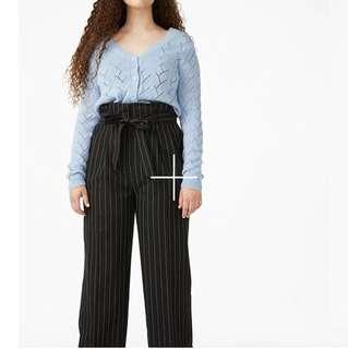 Monki pinstripe pants