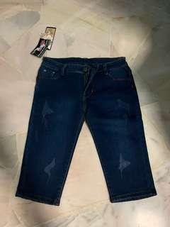 Knee Length Jeans S-M SIZE